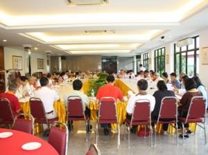 马来西亚佛教居士总会第一届开会